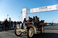 London to Brighton Veteran Car Run 2016 Colour - In Brighton paddock.